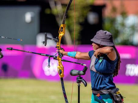 Ane Marcelle é a 33ª na etapa do ranqueamento do tiro com arco