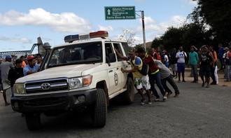 "Fronteira da Venezuela vira ""barril de pólvora"" que está prestes a explodir"