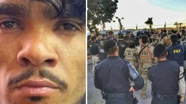 Filme se repete: Policiais chegam perto de Lázaro mas não conseguem capturá-lo