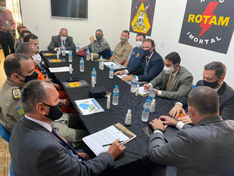 Secretários traçam em Luziânia fortalecimento da segurança no Entorno do DF