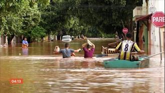 Governo libera R$ 892 milhões para municípios atingidos pelas enchentes