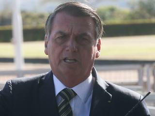 Bolsonaro condena atitude de Kajuru em divulgar conversa reservada