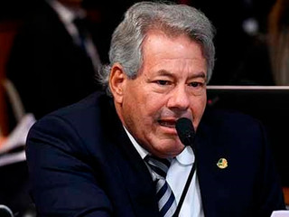 Senador Luiz do Carmo apoia representação de Flávio Bolsonaro contra Jorge Kajuru
