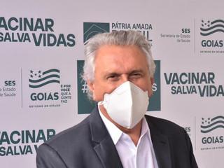 Caiado cobra de prefeitos esforço de todos para agilizar vacinação em Goiás