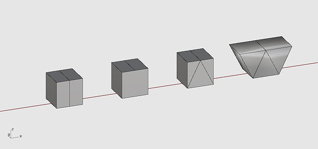 From core mesh to complex shape