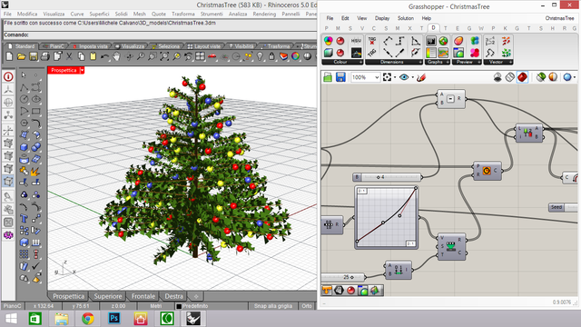 Data Tree and Christmas Tree