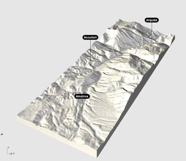 3D reconstruction of Amatrice. A shared process