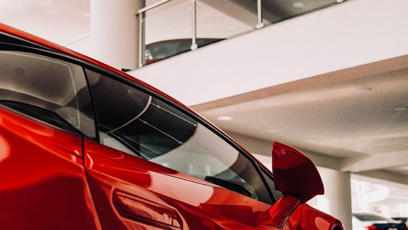Projekt salonu samochodowego