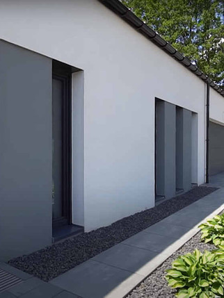 projekt domu parterowego niskoemisyjnego