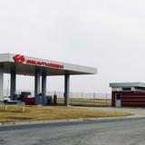 projekt stacji paliw