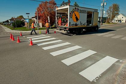 Signalisation interlignes 2013 - peintur