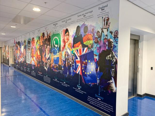 School Wall Graphics _