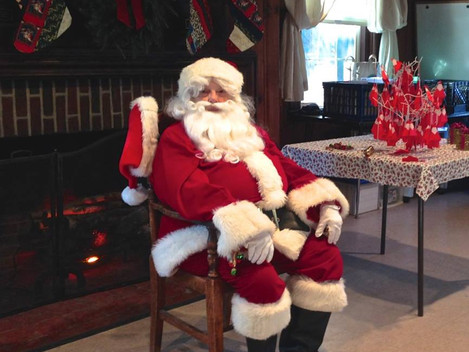 Breakfast with Santa, December 9th