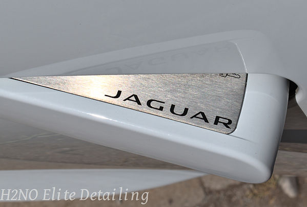 Polished Jaguar logo in El Paso Texas