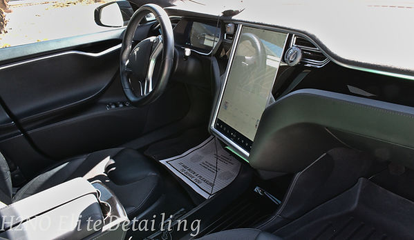 Detailed Interior Tesla Model S in El Paso