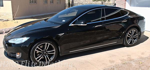 Ceramic Coated Tesla Model S in El Paso