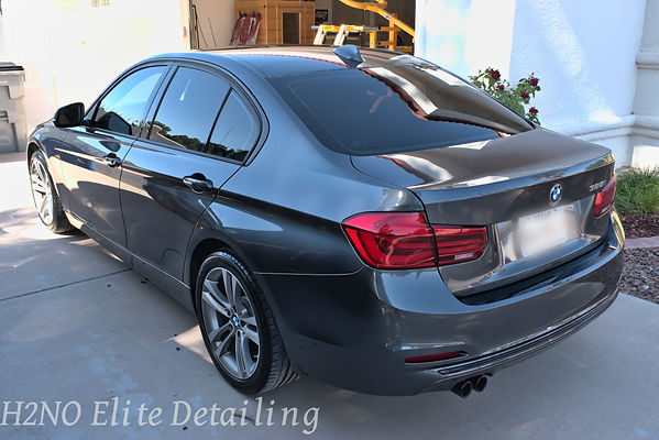Paint Correction on BMW in El Paso