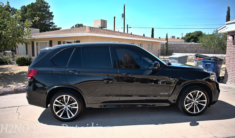 Paint Correction on BMW SUV in El Paso