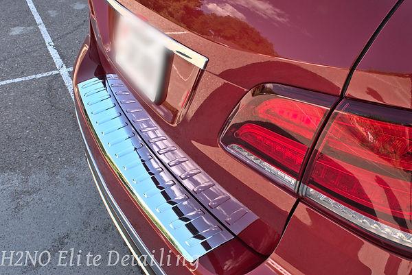 Polish Metal Liner of Mercedes GLE in El Paso