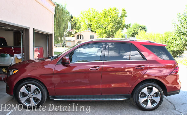 Driver Side View of GLE Paint Correction
