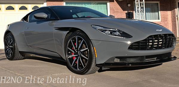 Aston Martin in El Paso