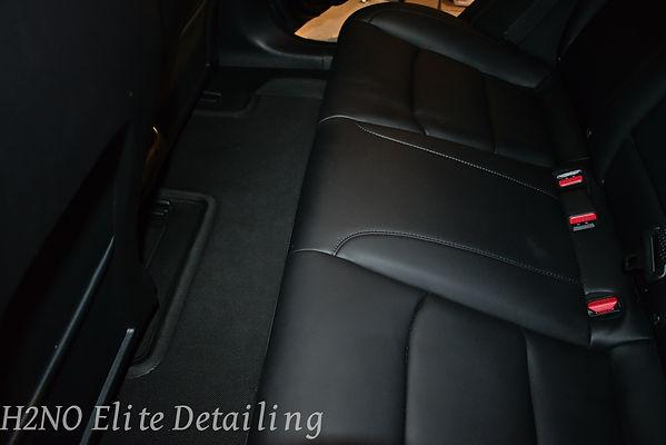 Floor of back seat detailed in El Paso TX