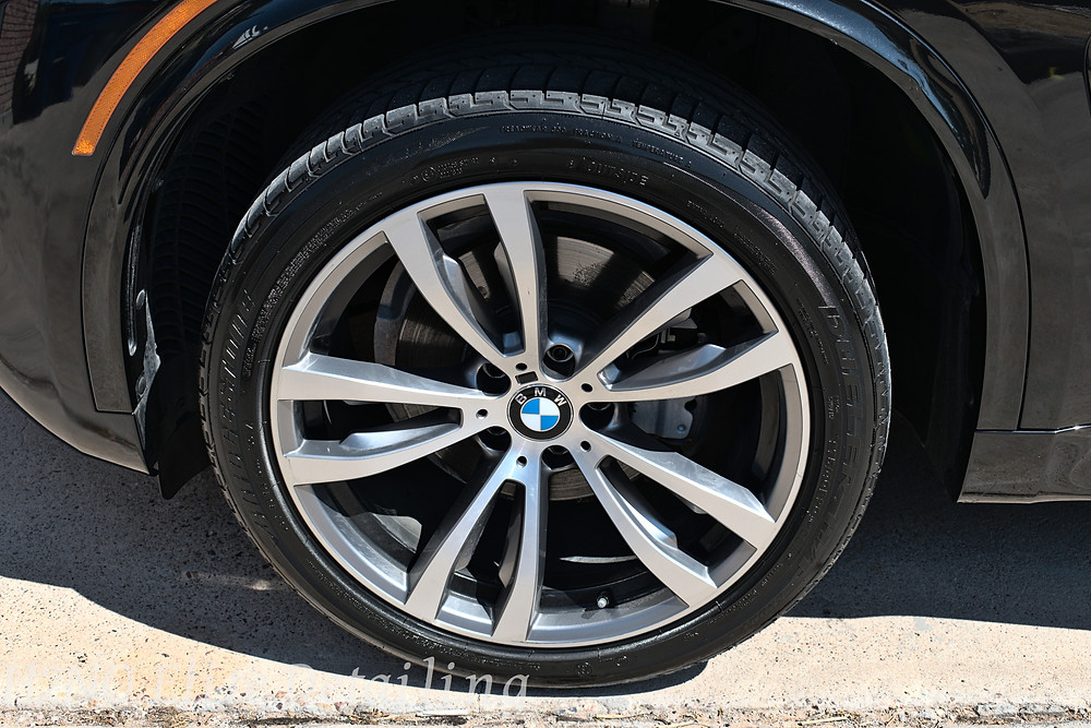 BMW wheels detailed in El Paso TX