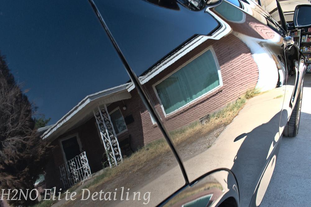 Mirror finish on BMW in El Paso TX
