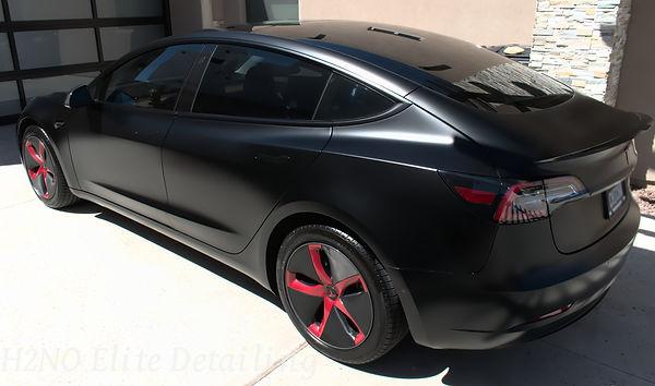 Tesla Model 3 Black with Ceramic Coating