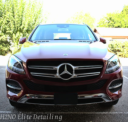 Mercedes GLE Paint Correction in El Paso