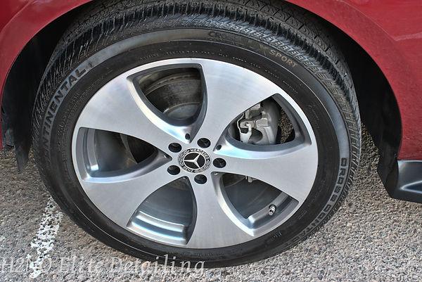 Detailed Wheel of Mercedes GLE in El Paso TX