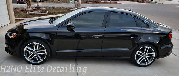 A3 Driver View Paint Correction in El Paso TX