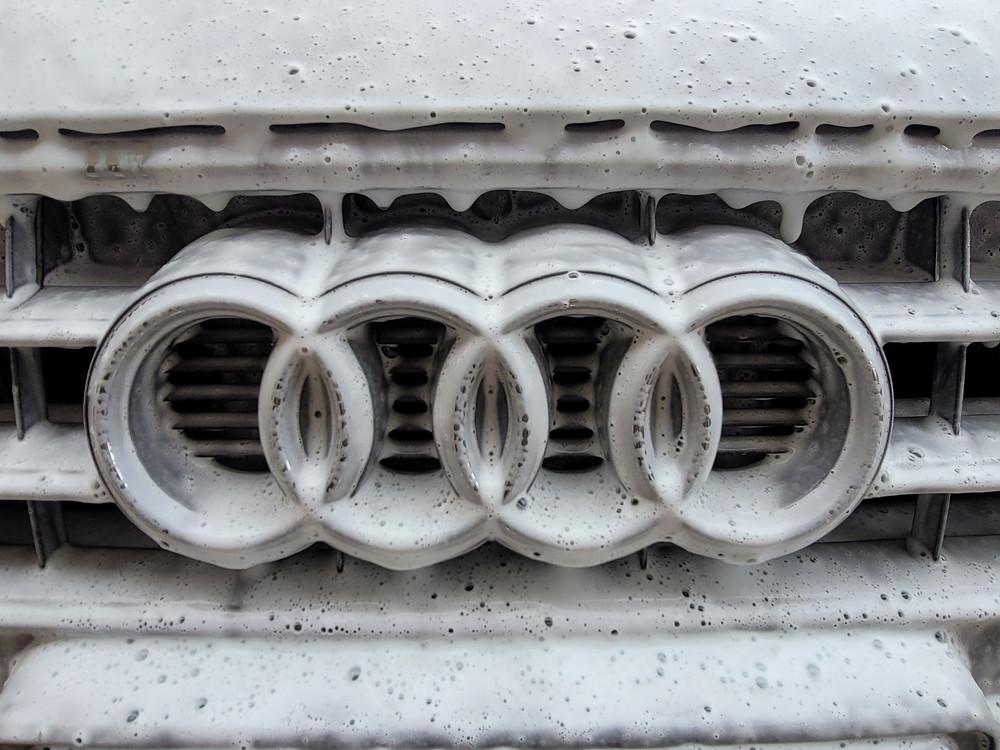 Soapy Audi Vehicle