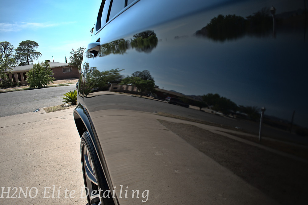Polished paint in El Paso Texas