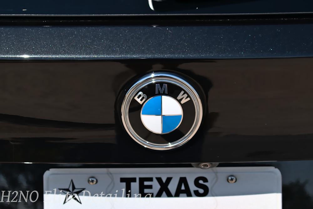Polished BMW logo in El Paso