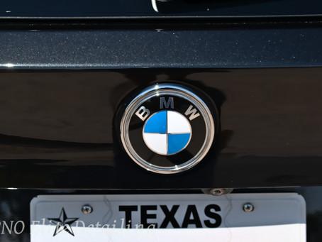 Paint Enhancement on BMW SUV