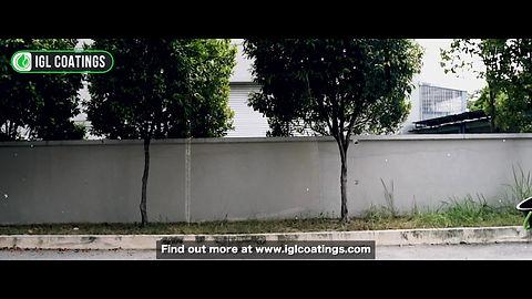 Ceramic coating video showing hydrophobicity