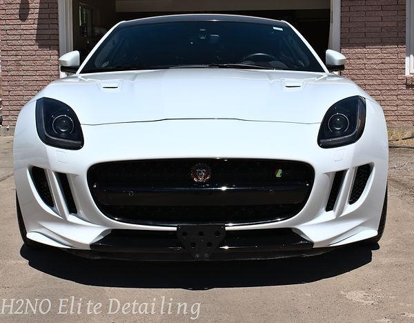 Bumper polished of Jaguar in El Paso Texas