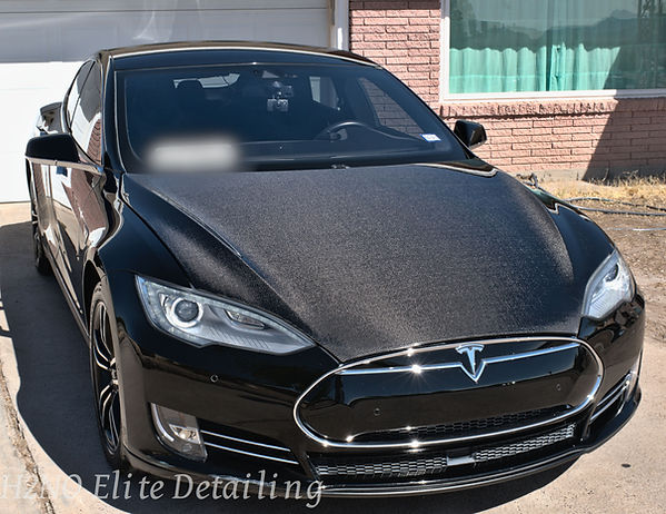 Paint Correction on Tesla Model S in El Paso