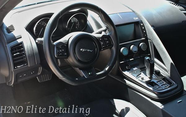 Interior Detail of Jaguar in El Paso