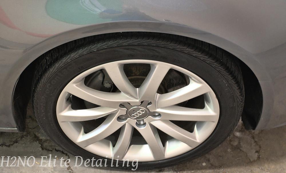 Detailed audi wheels in El Paso TX