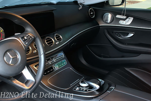 Detailed Interior Front of E-class in El Paso TX