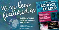 Featured in ISL Magazine (2019)