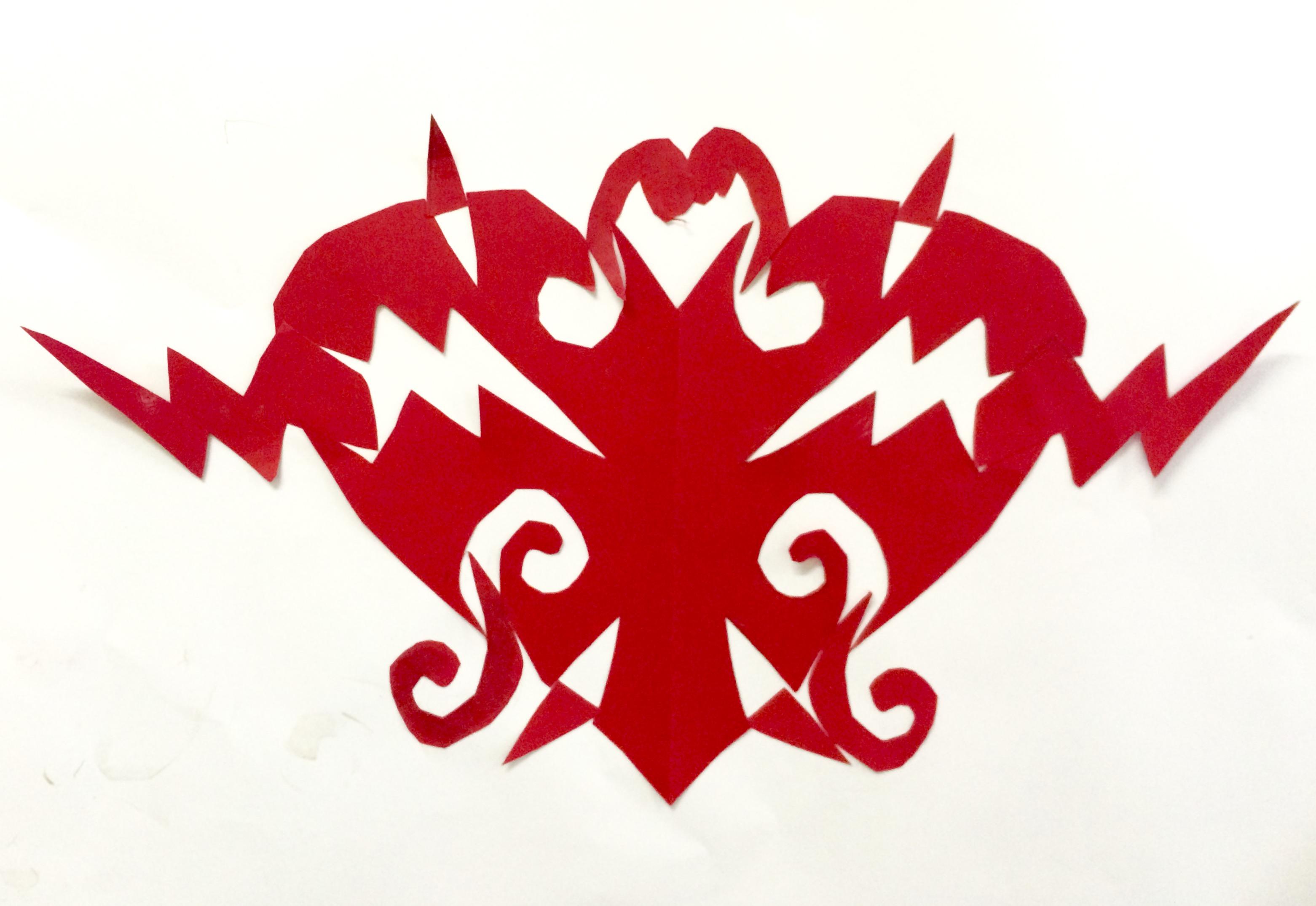 Heart Notan