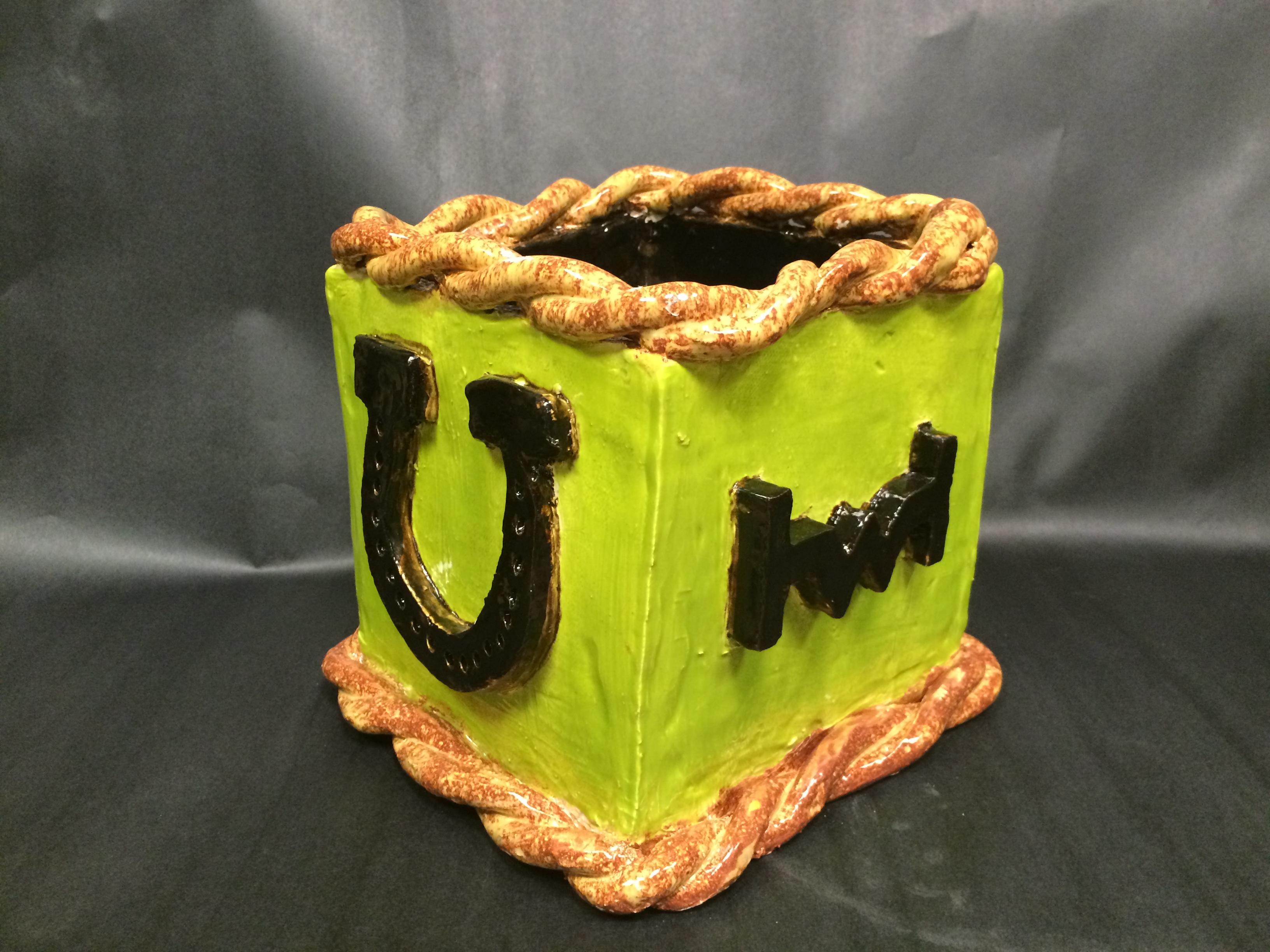 Western Ceramic Box