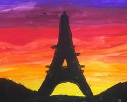 Silhouette of Famous Landmark