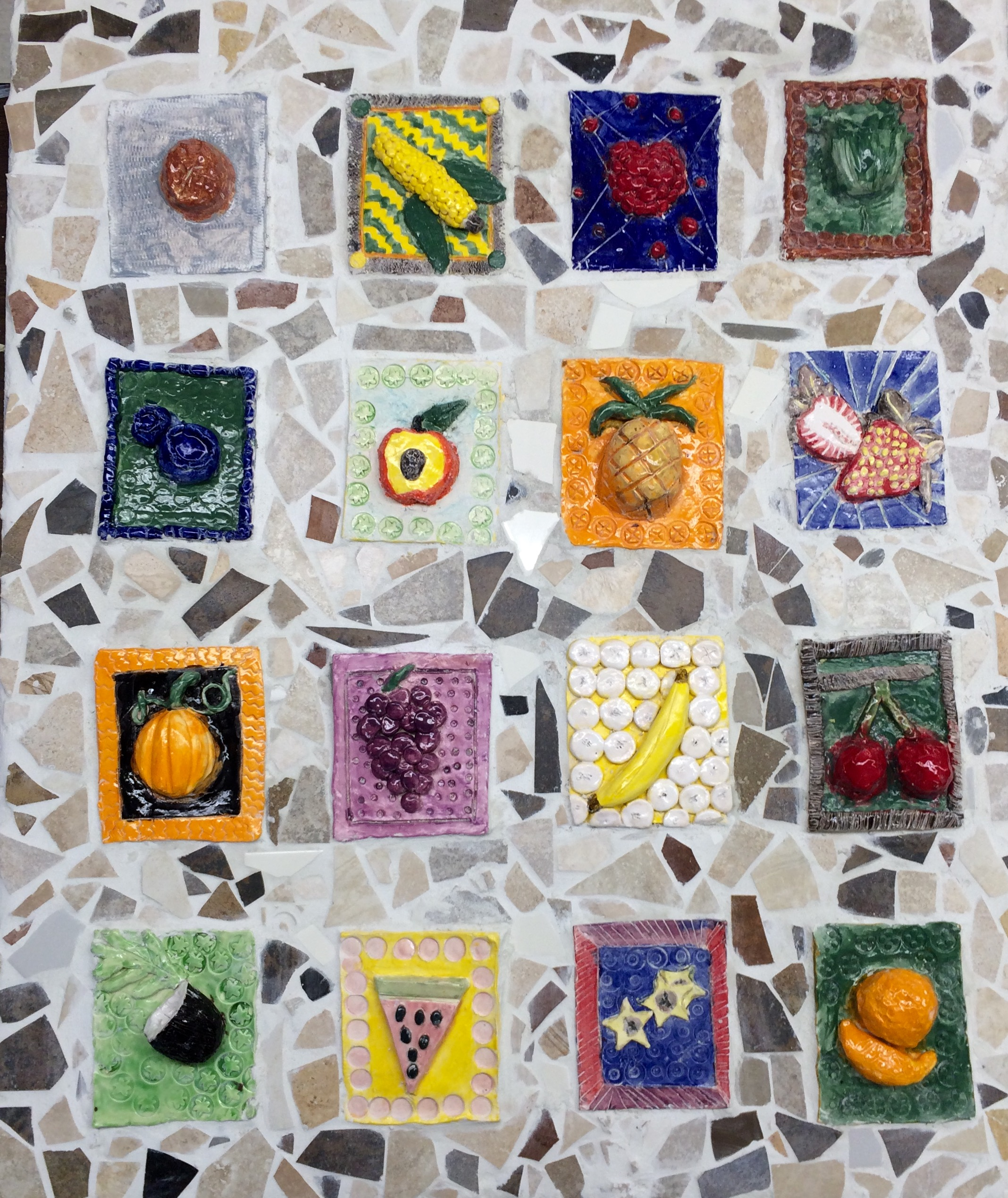 Fruit & Veggie Mosaic