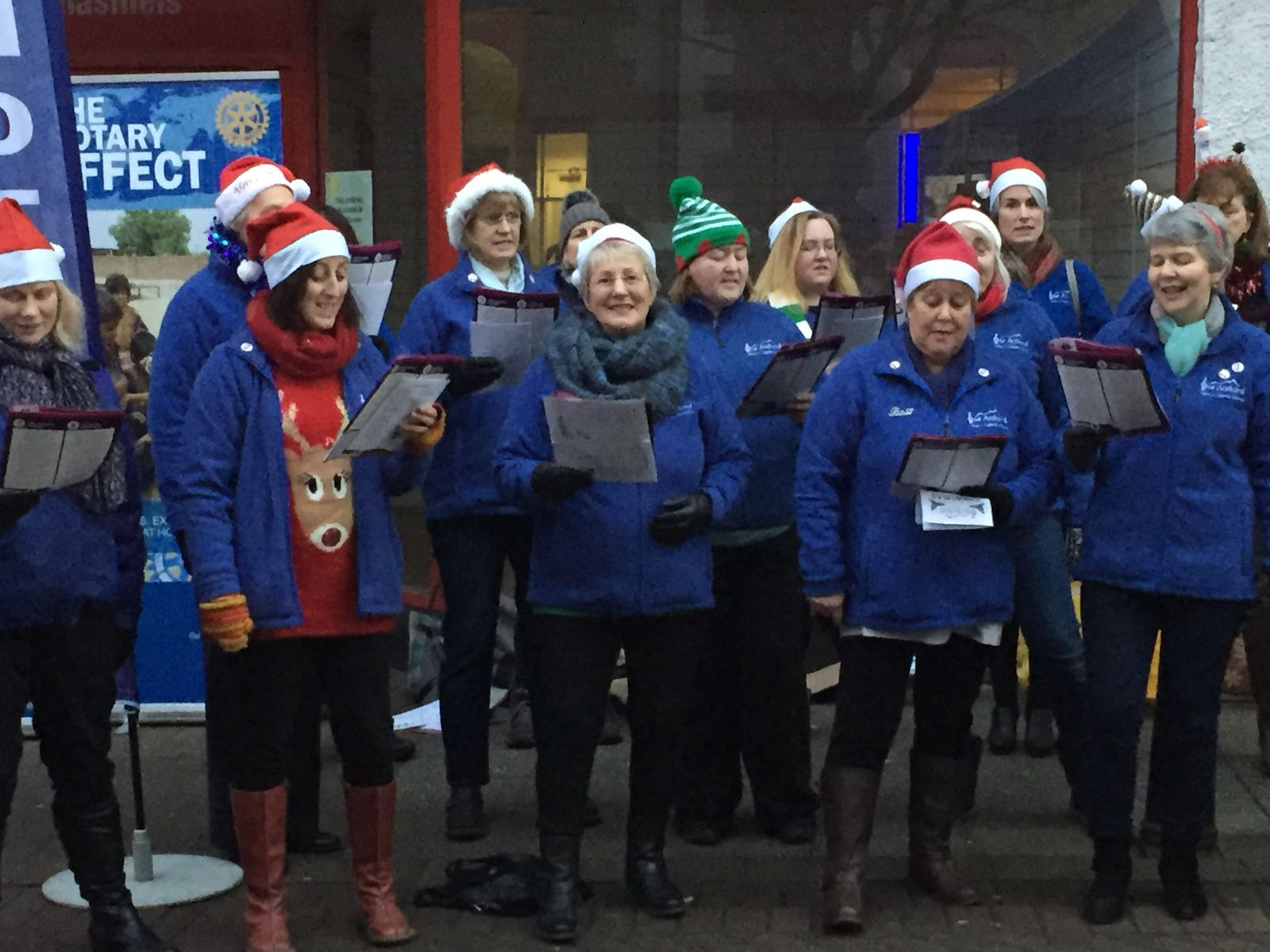 Galashiels Xmas Singout in Community