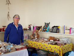 Fundraising at Selkirk Pop-up Shop