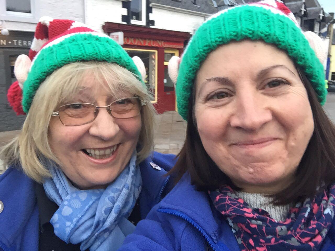 Galashiels Christmas Busking